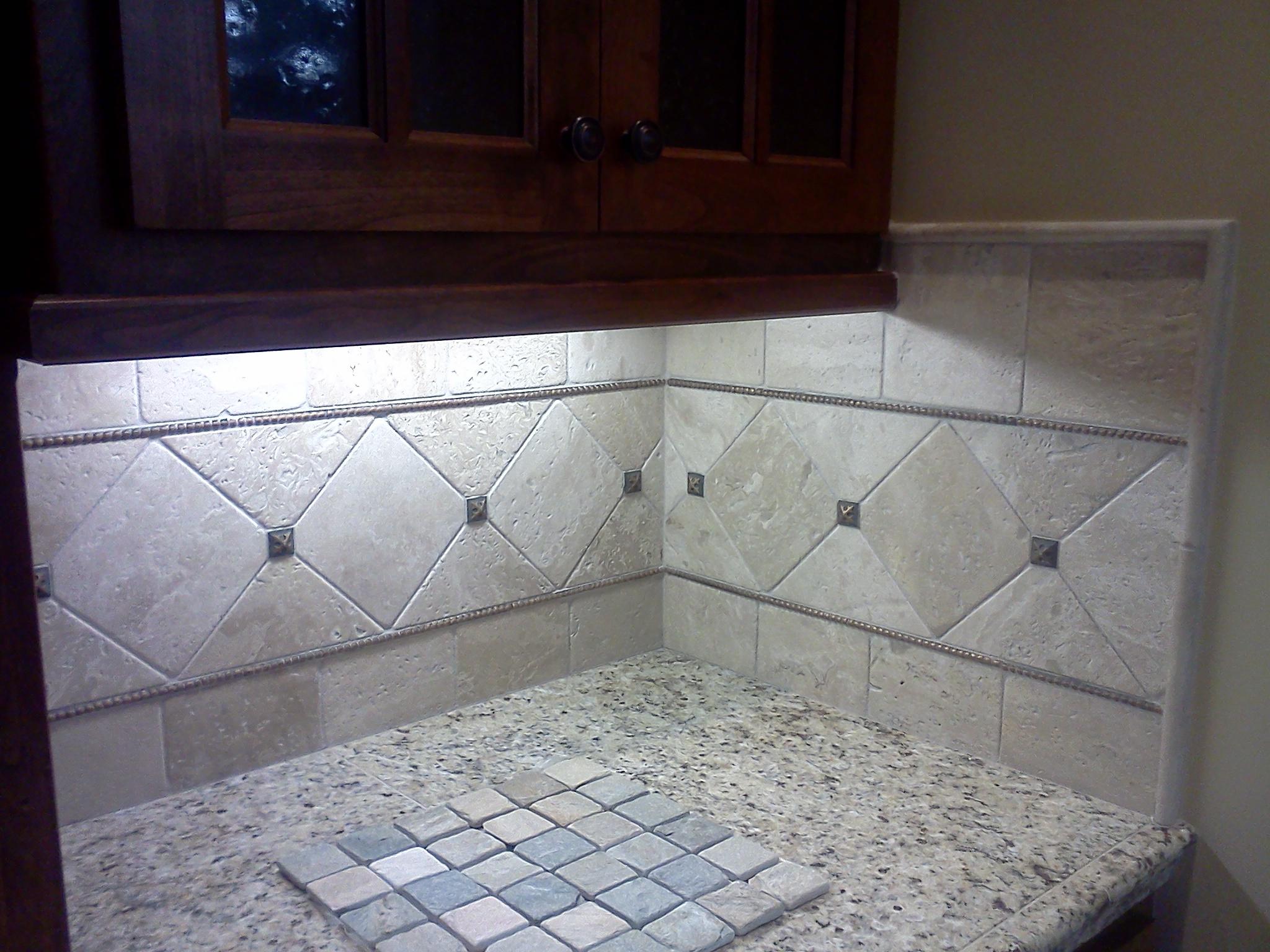 Kitchen tile sample